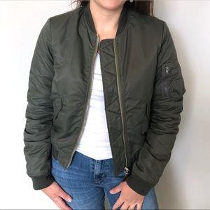 Marc Jacobs Olive green Bomber Jacket